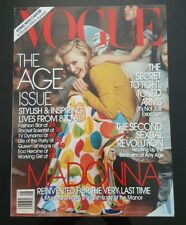 VOGUE (American Issue) - August 2005 - MADONNA Cover & At Home