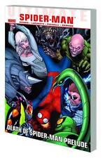 Ultimate Comics Spider-Man: Death Of Prelude Tpb Marvel Comics Dm Variant Tp