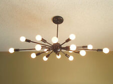 Atomic 16 Arm Sputnik Ceiling Light Chandelier Mid Century Modern