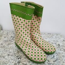 3cce1f51590 Mid-Calf Green Rubber Boots for Women for sale | eBay