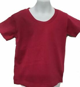 T-SHIRT 1,12,24 PACK TKM BRAND BOYS,GIRLS PLAIN T-SHIRT LOT 13(+) COLOR KIDS TEE