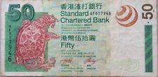 Hong Kong 2003 SCB $50 AF 817946