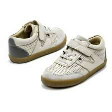 Toddler Shoes Old Soles Fitz Leather Sneakers Hook and Loop Little Kids Shoes