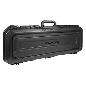"Plano PLA11852 42"" All Weather Hard Sided Tactical Rifle Long Gun Case, Black"