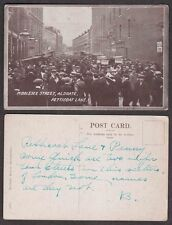 Old London Postcard - Petticoat Lane, Aldershot, Middlesex Street Scene