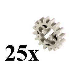 LEGO Technic 25 pcs LIGHT GRAY GEAR 16 Tooth Teeth Lot Mindstorm Part Piece 4019