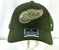 Detroit Red Wings NHL Olive Baseball Cap Snapback