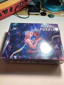 The Bookish Box Exclusive November 2020 Throne of Glass Puzzle Aelin & Rowan