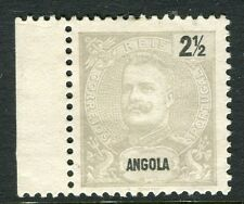 PORTUGUESE ANGOLA;  1898 early Carlos issue Mint unused 2.5r. value