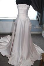 Pink 2 piece Wedding Dress