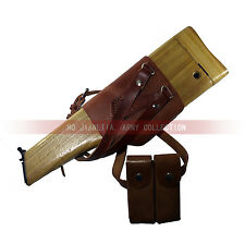 Ww2 German Mauser C96 Stock Wood Holster Shoulder Case Broomhandle With Clip