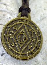 amulette en laiton TALISMAN la richesse et des mondes, talisman