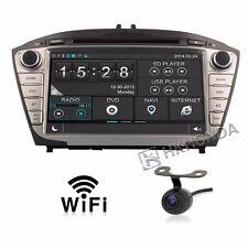 Car DVD GPS Player 3G Navi Radio RDS For Hyundai ix35 Tucson 2009 Free camera