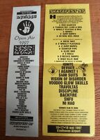 Dynamo Open Air 1997 Flyers mega rare Machine Head Type O Negative Amorphis