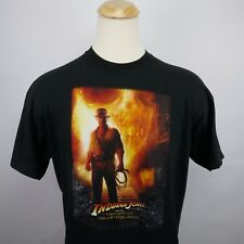 Indiana Jones Mens XL shirt Kingdom of the crystal skull vivid colors b9 nice