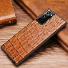 For Samsung Galaxy Note 20 Ultra 5G Luxury Hybrid Crocodile Leather Case Cover