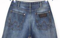 Wrangler Herren ACE Slim Gerades Bein Jeans Größe W34 L32 ATZ1368