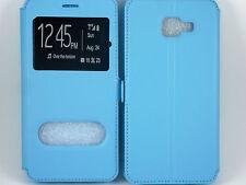 Custodia Cover Pochette Vista custodia Turchese per Samsung Galaxy S7