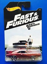 2016 Hot Wheels FAST AND FURIOUS 1969 DODGE CHARGER DAYTONA - mint on long card