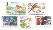 Christmas -Robins-Birds -Isle of Man-(5)mnh