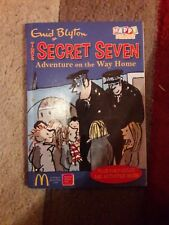 McDonalds HAPPY MEAL toy enfants enfant Enid Blyton livre The Secret Seven