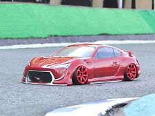D-Like 1/10 RC TOYOTA FT86Ⅱconcept F198mm R200mm Clear Body Drift Pandora Yokomo