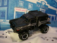 Mission Force:POLICE RESPONSE Exclusive RUMBLE RAIDER☆Black;Bomb Squad☆MATCHBOX