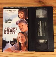 A Soldier's Daughter Never Cries (VHS, 1999) Kris Kristofferson