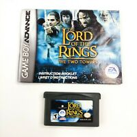 Gameboy Advance The Lord Of The Rings: The Two Towers Games with Manual Nintendo