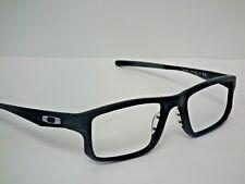 Authentic Oakley OX8049-0955 Satin Black VOLTAGE Machinist Eyeglasses Frame $233
