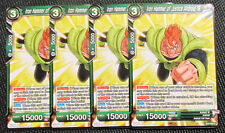 4x Iron Hammer of Justice Andriod 16 BT2-094 Common Dragon Ball Super TCG NM