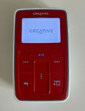 Creative ZEN Micro MP3 Player, 5Gb (Red) - Tested - Working - VGC