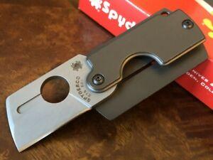 Spyderco Knife Dogtag Gen 4 CTS-BD1 Blade C188ALP Authorized Dealer
