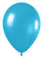 "12 Deluxe Turquoiseblue Latex Balloons Helium Grade 11"""