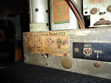 SILVERTONE ANTIQUE RADIO 1939 CHASSIS ONLY