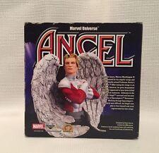 Marvel universo Busto 6 pulgadas – Ángel. completa con certificado de autenticidad.