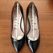 High (3 in. and Up) Patent Leather Wear to Work Solid Heels for Women