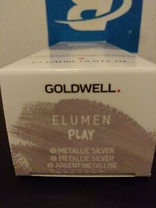 Goldwell Elumen Play Semi Permanent Haircolor Metallic Silver 4oz