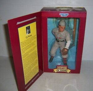 """1996 Starting Lineup Baseball Cooperstown Collection Cy Young 12"""" Figure NEW"""