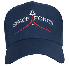 Space Force Blue  Hat White and Red Embroidered,One Size  free shipping