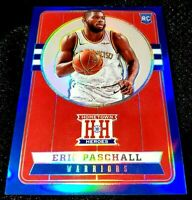 ERIC PASCHALL 19-20 CHRONICLES HOMETOWN HEROES BLUE PRIZM ROOKIE RC GSW 57/99