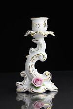 Kaiser Kerzenhalter Porzellan mit Rosen Goldrand Leuchter Kerzenständer