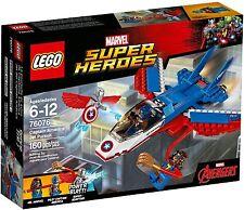 LEGO 76076 Marvel Super Heroes Captain America Jet Pursuit - Brand New Sealed