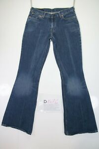 Levi's 504 Flare Bootcut (Cod. D1476) Tg44 W30 L34 jeans usato Donna Vita Bassa