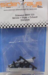 SIDEWAYS SW320/B BMW 320 PLASTIC DETAIL PARTS NEW 1/32