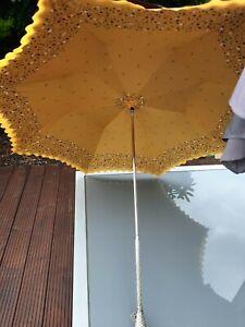Vintage victorian ? Double Layered Umbrella/parasol.  Sun Shade