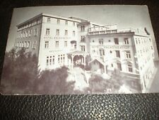 Old Postcard Hotel Engadinerhof Pontresina Switzerland c1930s