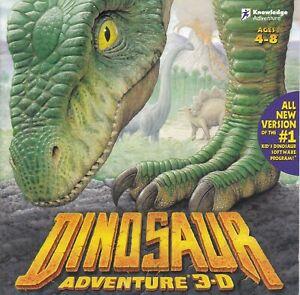 Vintage Dinosaur Adventure (PC, 1999, Windows and Mac, Ages 4-8)