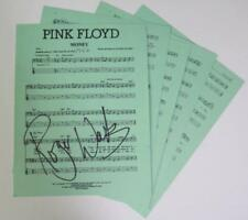 "Roger Waters PINK FLOYD Signed Autograph ""Money"" Sheet Music  FA LOA"