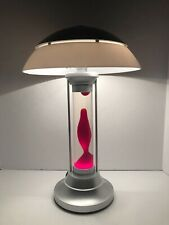 "18.5"" Lava Table Lamp Lava World Red & Clear MIB HTF"